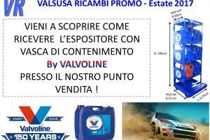 PROMOZIONE VALVOLINE ESTATE 2017